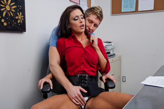 Jessica Jaymes & Danny Wylde in My First Sex Teacher - Naughty America - Sex Position #4