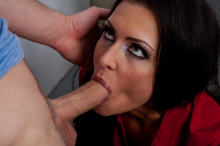 Jessica Jaymes & Danny Wylde in My First Sex Teacher - Naughty America - Sex Position #5