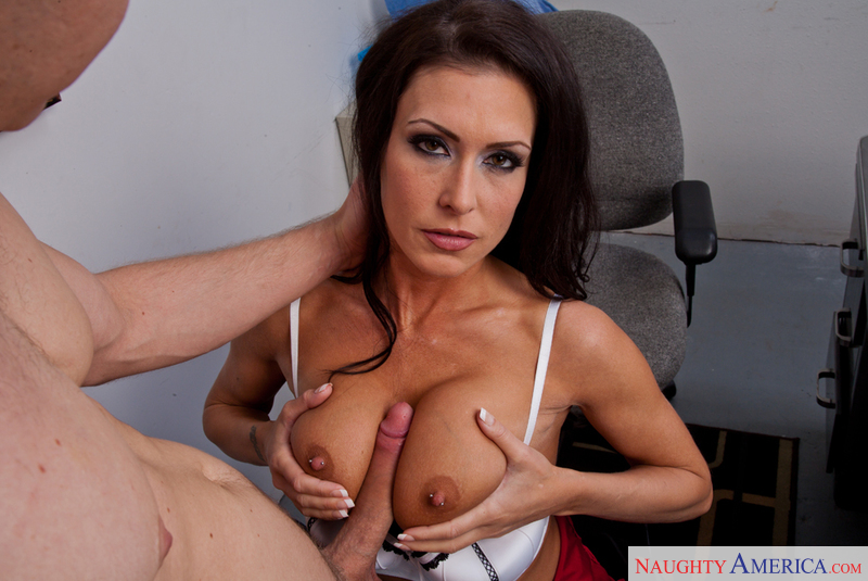 Jessica Jaymes & Danny Wylde in My First Sex Teacher - Naughty America - Sex Position #7