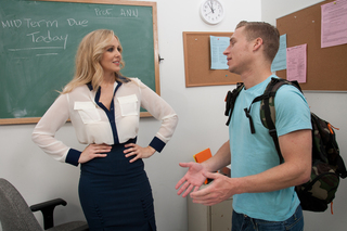 Julia Ann & Michael Vegas in My First Sex Teacher - Naughty America - Sex Position #1