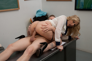 Julia Ann & Michael Vegas in My First Sex Teacher - Naughty America - Sex Position #7