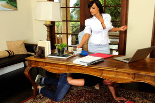 Lisa Ann & Bill Bailey in My First Sex Teacher - Naughty America - Sex Position #1