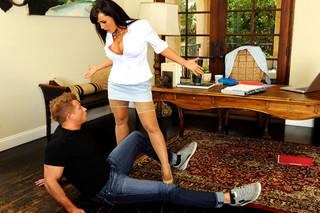 Lisa Ann & Bill Bailey in My First Sex Teacher - Naughty America - Sex Position #3
