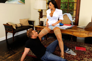 Lisa Ann & Bill Bailey in My First Sex Teacher - Naughty America - Sex Position #4