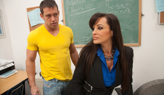Lisa Ann & Johnny Castle in My First Sex Teacher - Naughty America - Sex Position #1