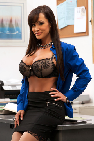 Lisa Ann & Johnny Castle in My First Sex Teacher - Naughty America - Centerfold