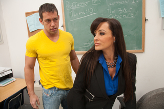 Lisa Ann & Johnny Castle in My First Sex Teacher - My First Sex Teacher - Sex Position #2