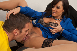 Lisa Ann & Johnny Castle in My First Sex Teacher - Naughty America - Sex Position #4