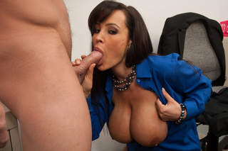 Lisa Ann & Johnny Castle in My First Sex Teacher - Naughty America - Sex Position #7