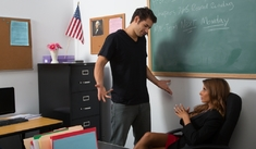 Madison Ivy & Giovanni Francesco in My First Sex Teacher - Naughty America - Sex Position #1