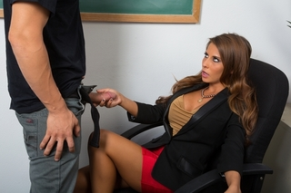 Madison Ivy & Giovanni Francesco in My First Sex Teacher - Naughty America - Sex Position #2