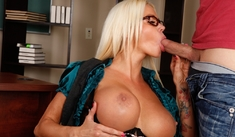Nikita Von James & Giovanni Francesco in My First Sex Teacher - Naughty America - Sex Position #2