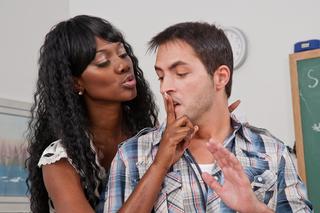 Danny Wylde & Nyomi Banxxx in My First Sex Teacher - Naughty America - Sex Position #3
