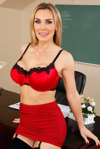 Tanya Tate & James Deen in My First Sex Teacher - Naughty America - Centerfold
