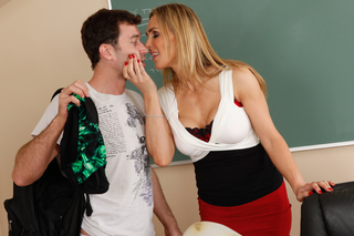 Tanya Tate & James Deen in My First Sex Teacher - Naughty America - Sex Position #2