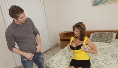 Deauxma & Danny Wylde in My Girlfriend's Busty Friend - Naughty America - Sex Position #1