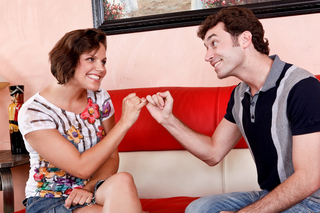 Bobbi Starr & James Deen in My Sister's Hot Friend - Naughty America - Sex Position #1