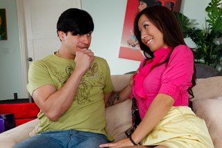 Anthony Rosano & Celia Vi in My Sister's Hot Friend - Naughty America - Sex Position #2