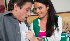 Christy Mack & Alan Stafford in My Sister's Hot Friend - Naughty America - Sex Position #1