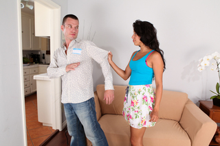 Gia Steel & Tim Cannon in My Sister's Hot Friend - Naughty America - Sex Position #3