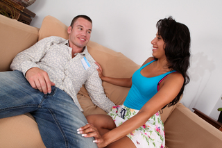 Gia Steel & Tim Cannon in My Sister's Hot Friend - Naughty America - Sex Position #4