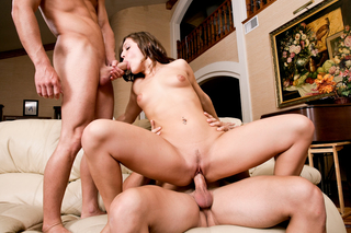 Gracie Glam, Johnny Castle & Michael Vegas in My Sister's Hot Friend - Naughty America - Sex Position #10