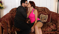 Jessica Robbin & Dane Cross in My Sister's Hot Friend - Naughty America - Sex Position #1
