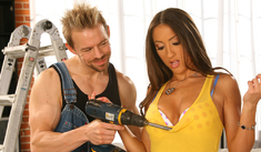 Lizz Tayler & Erik Everhard in My Sister's Hot Friend - Naughty America - Sex Position #1