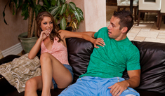 Presley Hart & Johnny Castle in My Sister's Hot Friend - Naughty America - Sex Position #1