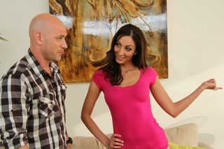 Angelica Saige & Johnny Sins in My Wife's Hot Friend - Naughty America - Sex Position #1