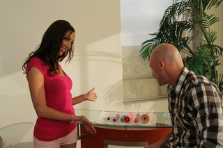 Angelica Saige & Johnny Sins in My Wife's Hot Friend - Naughty America - Sex Position #2