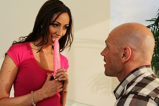 Angelica Saige & Johnny Sins in My Wife's Hot Friend - Naughty America - Sex Position #3