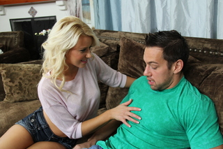 Anikka Albrite & Johnny Castle in My Wife's Hot Friend - Naughty America - Sex Position #1