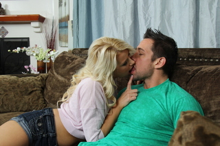Anikka Albrite & Johnny Castle in My Wife's Hot Friend - Naughty America - Sex Position #3