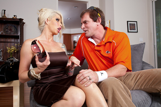 Brooke Haven & Evan Stone in My Wife's Hot Friend - Naughty America - Sex Position #1