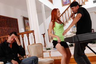 Dani Jensen & Billy Glide in My Wife's Hot Friend - My Wife's Hot Friend - Sex Position #1