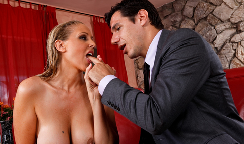 Denis Marti & Julia Ann in My Wife's Hot Friend - Naughty America - Sex Position #1