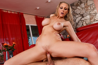 Denis Marti & Julia Ann in My Wife's Hot Friend - Naughty America - Sex Position #9