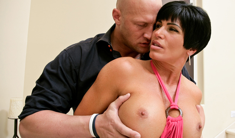 Christian & Shay Fox in My Wife's Hot Friend - Naughty America - Sex Position #2