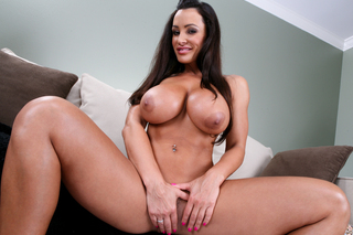 Lisa Ann lets her neighbor fuck her in the ass from Naughty America