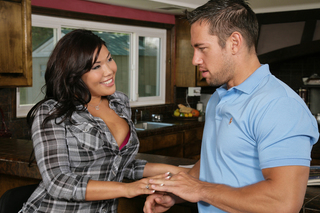 Johnny Castle & London Keyes in Neighbor Affair - Naughty America - Sex Position #3