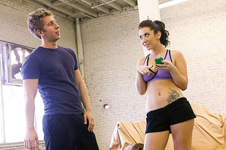 Jayden Jaymes gives up her sweet juicy tight ass from Naughty America