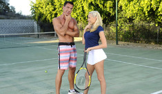 Katie Summers & Marco Banderas in Naughty Athletics - Naughty America - Sex Position #1