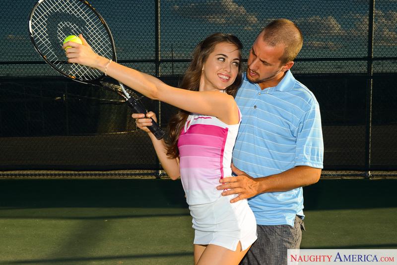 Секс на много приятнее чем теннис