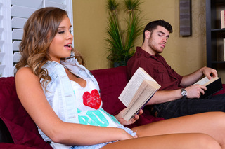 Alexis Adams & Gavin Kane in Naughty Bookworms - Naughty Bookworms - Sex Position #1