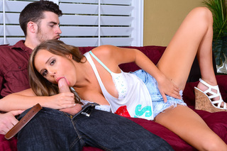 Alexis Adams & Gavin Kane in Naughty Bookworms - Naughty Bookworms - Sex Position #3