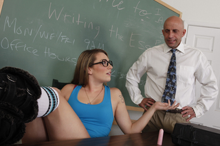 Bailey Blue & Barry Scott in Naughty Bookworms - Naughty Bookworms - Sex Position #4