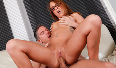 Haley Sweet & Mick Blue in Naughty Bookworms - Naughty America - Sex Position #3