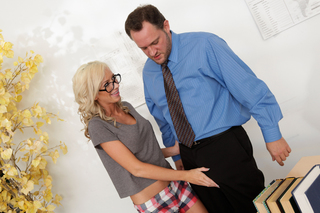 Alec Knight & Kaylee Hilton  in Naughty Bookworms - Naughty America - Sex Position #4