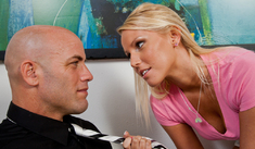 Vanessa Cage & Derrick Pierce in Naughty Bookworms - Naughty America - Sex Position #1